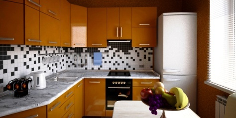 Imagenes de cocinas peque as c mo dise ar cocinas Disenos cocinas pequenas para apartamentos