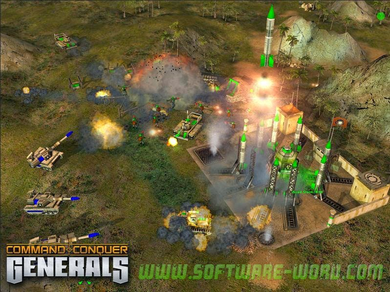 Command & Conquer Generals Reloaded Fire [torrents.by]