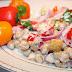 Sałatka z Ciecierzycą i Warzywami
