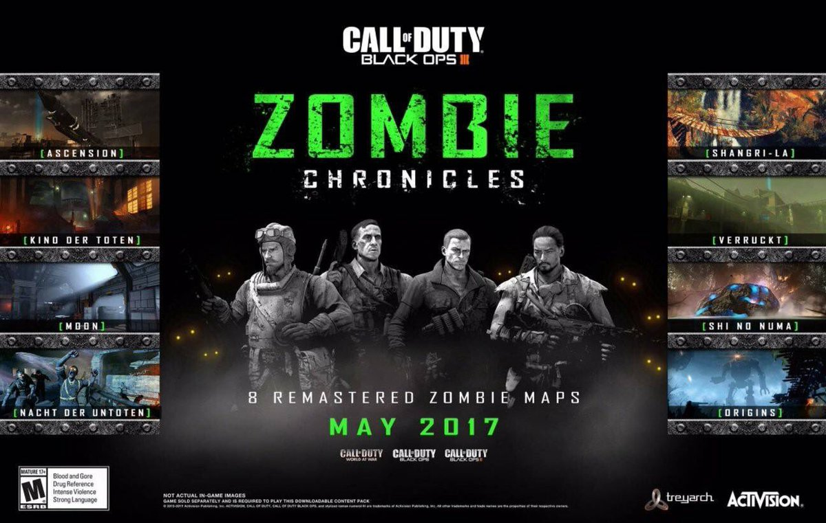 9To5 TechNews: 8 Clic Zombies Maps Are Coming To Call Of Duty ... on