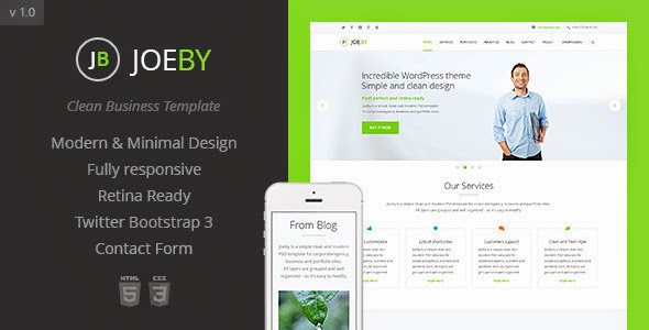 free Responsive One Page Template