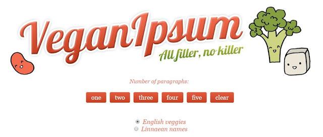 Vegan Ipsum