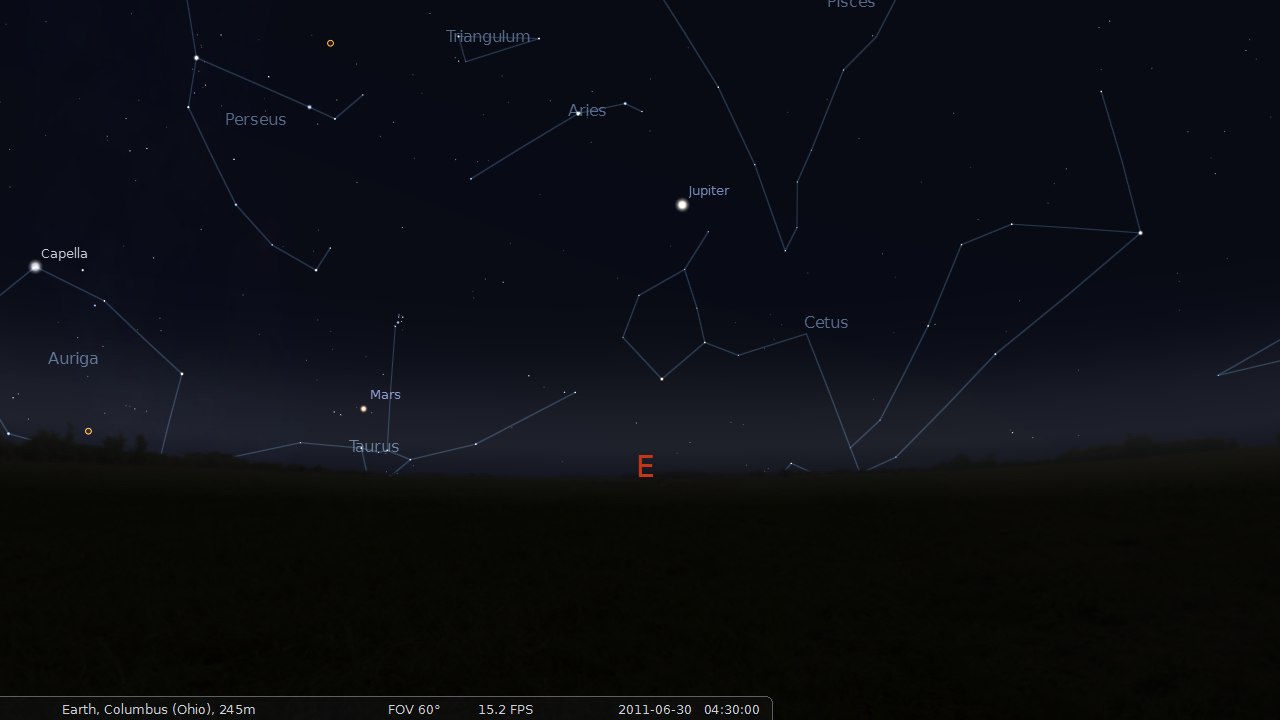 visible planets tonight november 25 - photo #37