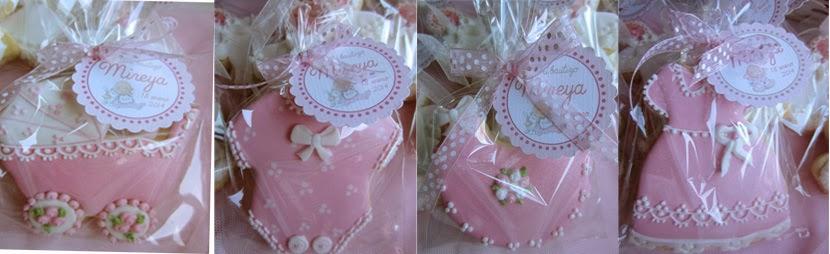 Galletas decoradas para bautizo niña