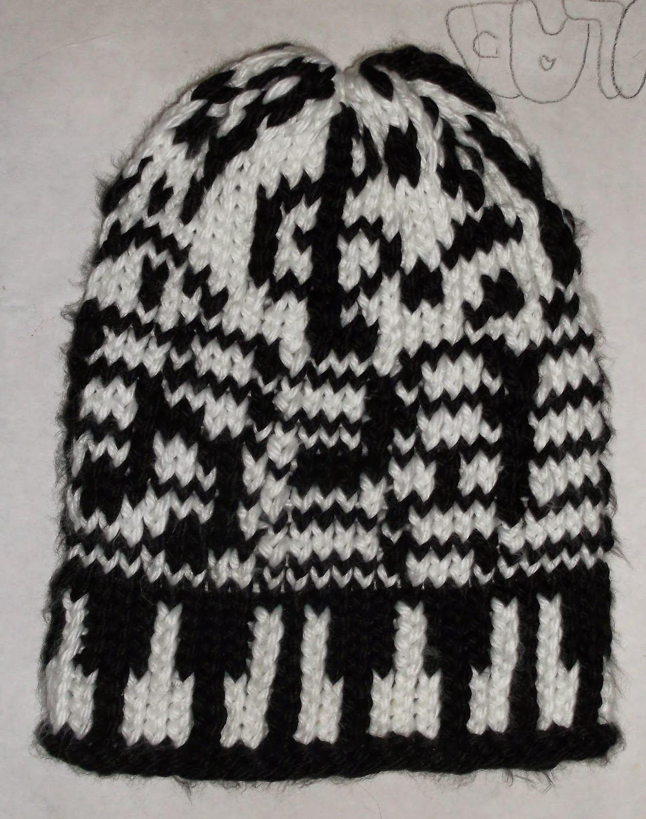 The Loom Muse How To Loom Knit A Music Hat