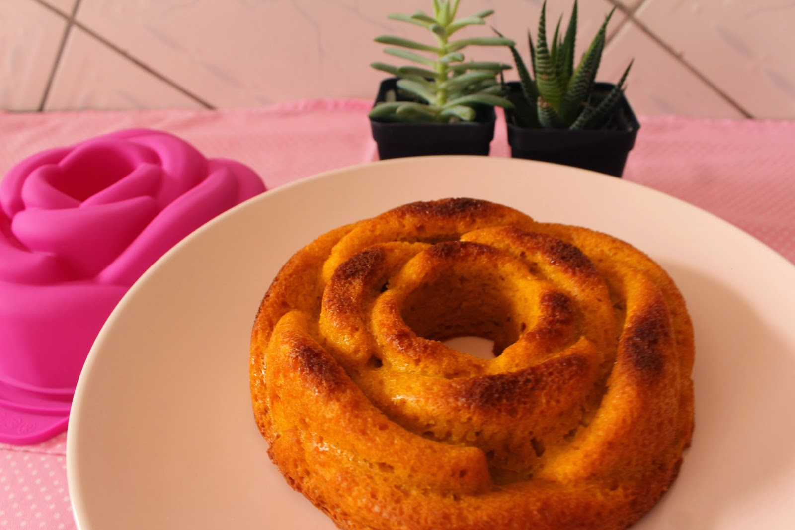 bolo de milho pequeno