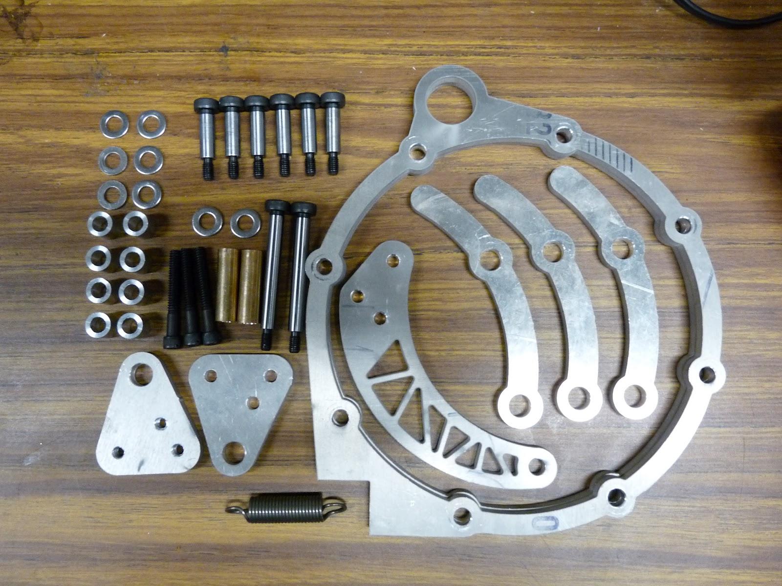 Rensselaer Formula Hybrid Racing motor mount pizza etc