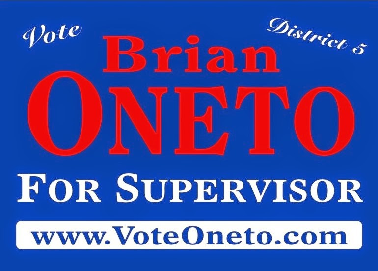 Brian Oneto for District 5 Supervisor