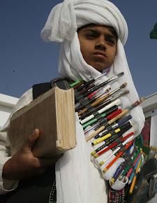 قلم مئے سلاح و کتاب مئے راھشون