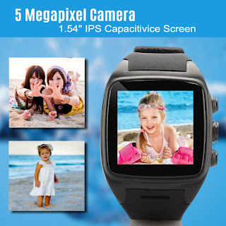 iMacwear M7 un smart watch phone con android 4.4, dual core, 3G, micro sim, pantalla IPS capacitiva 4
