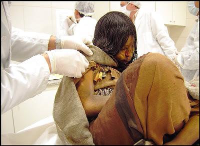 Inca Mummy - Inca Girl, Frozen for 500 years (Argentina)