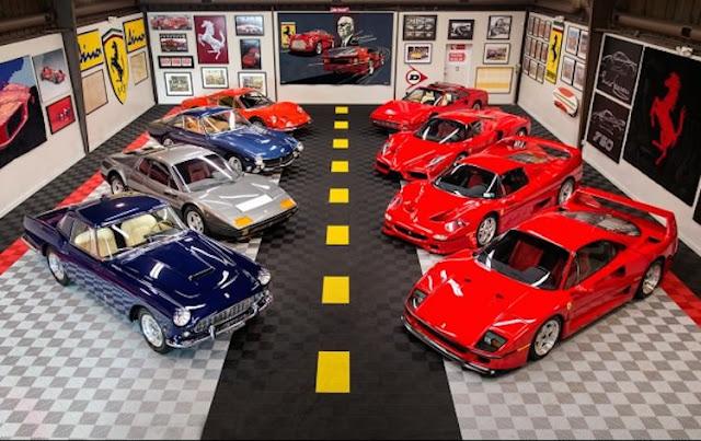 総額は十数億円?エンツォやF40など貴重なフェラーリコレクションがオークションへ!