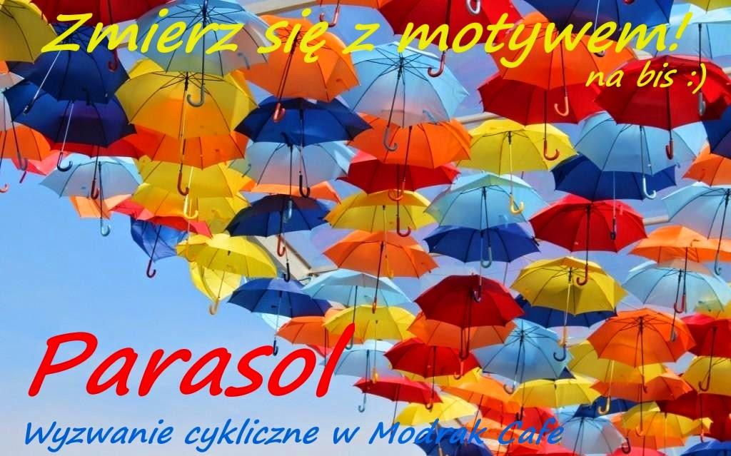 Zmierz się z motywem na bis - parasol