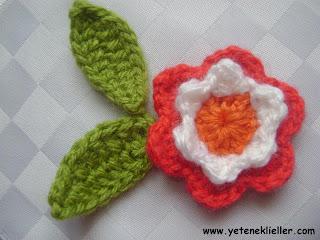 tı işi çeçek yapımı