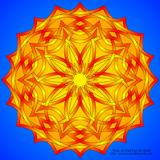 Sun Celtic Knotwork