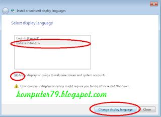 Cara Mengganti Bahasa Inggris Menjadi Bahasa Indonesia di Windows