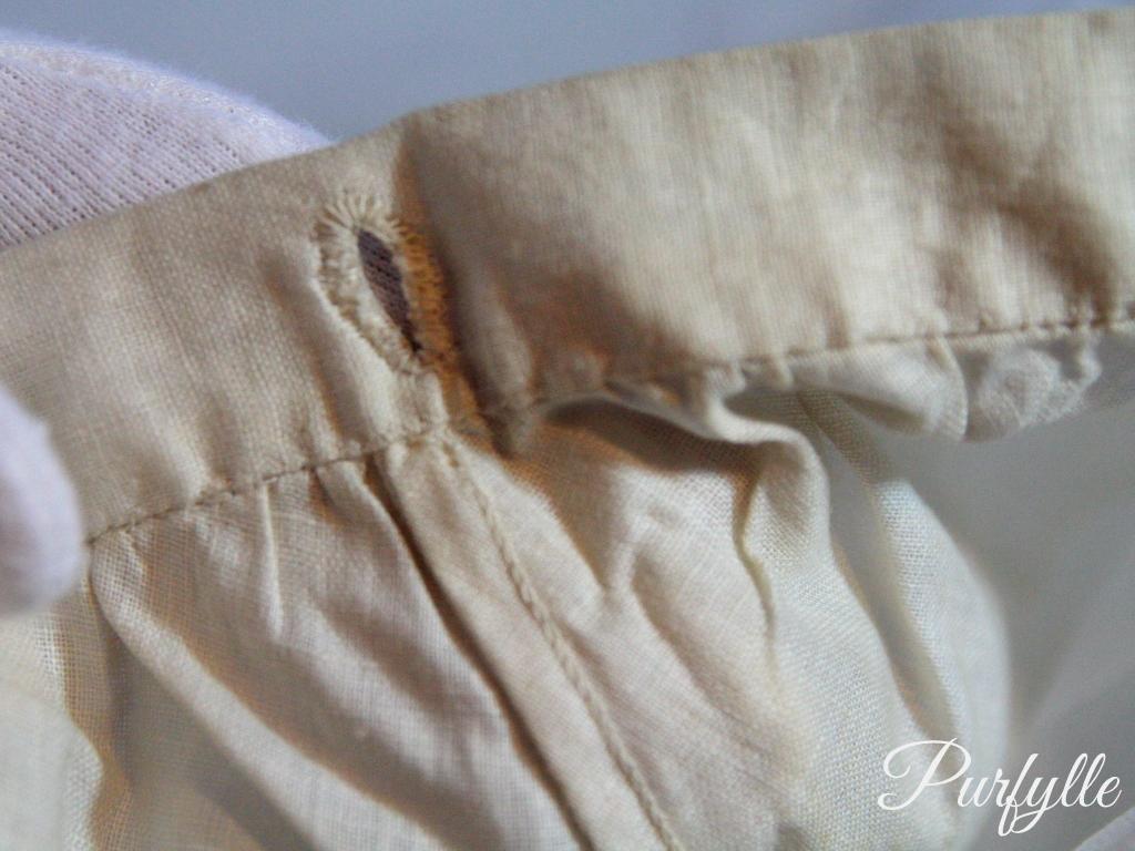 seam construction 1927 underwear