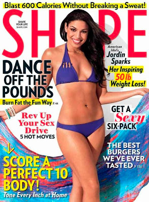 Jordin Sparks on SHAPE Magazine