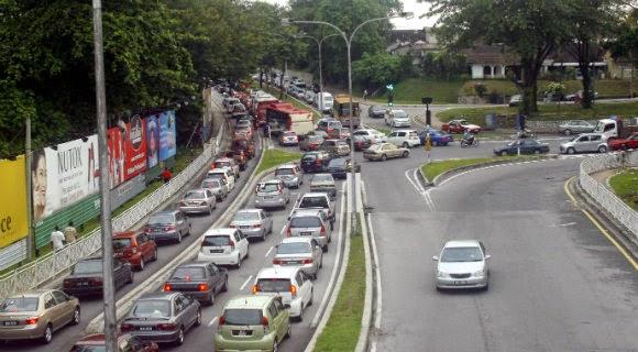Aliran Trafik Baru Petaling Jaya Bermula 12 Oktober 2014
