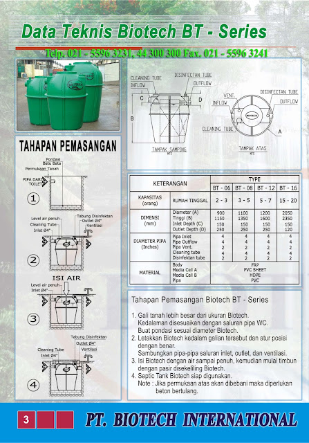septic tank biotech,biofil, modern, baik, biofilter, portable toilet fibreglass, bubuk bakteri