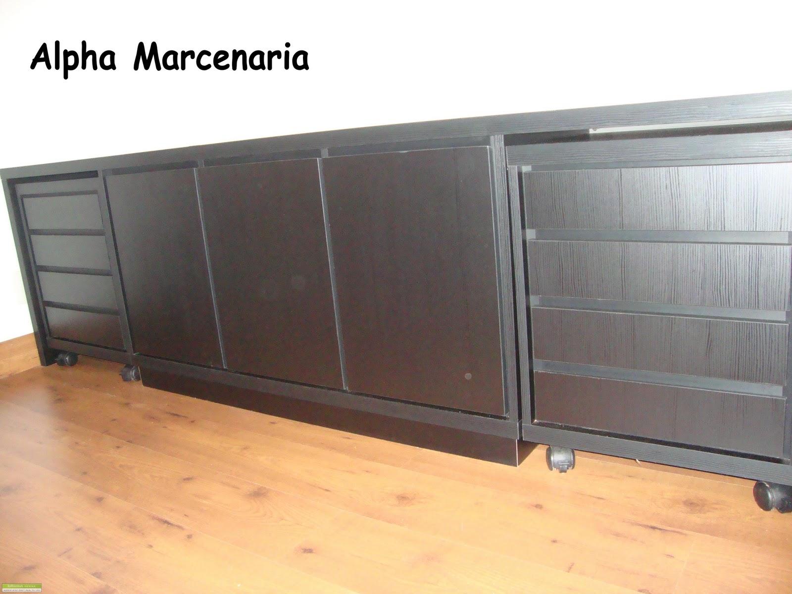 Bancada e gaveteiros com rodinhas #BC6B0F 1600x1200