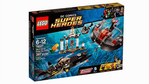 LEGO DC Comics Super Heroes JUSTICE LEAGUE Sets Revealed ...