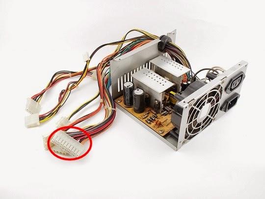 Cara Jumper Power Supply PC
