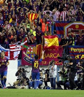 Barcelona se proclamó Campeón de la Copa del Rey 2012
