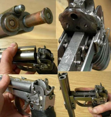 shotgun pistol working inner components picture