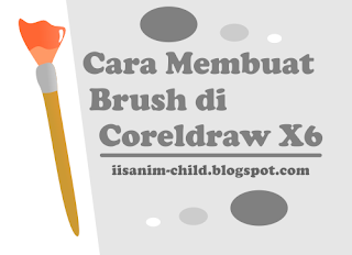 Cara membuat Brush Artistic Media di Coreldraw X6
