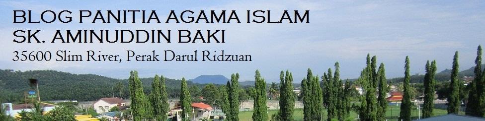 Blog Panitia Agama Islam SK Aminuddin Baki