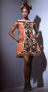 bbnaomicampbell199203vetx0 Beauty Flashback | Naomi Campbell for Versace Atelier
