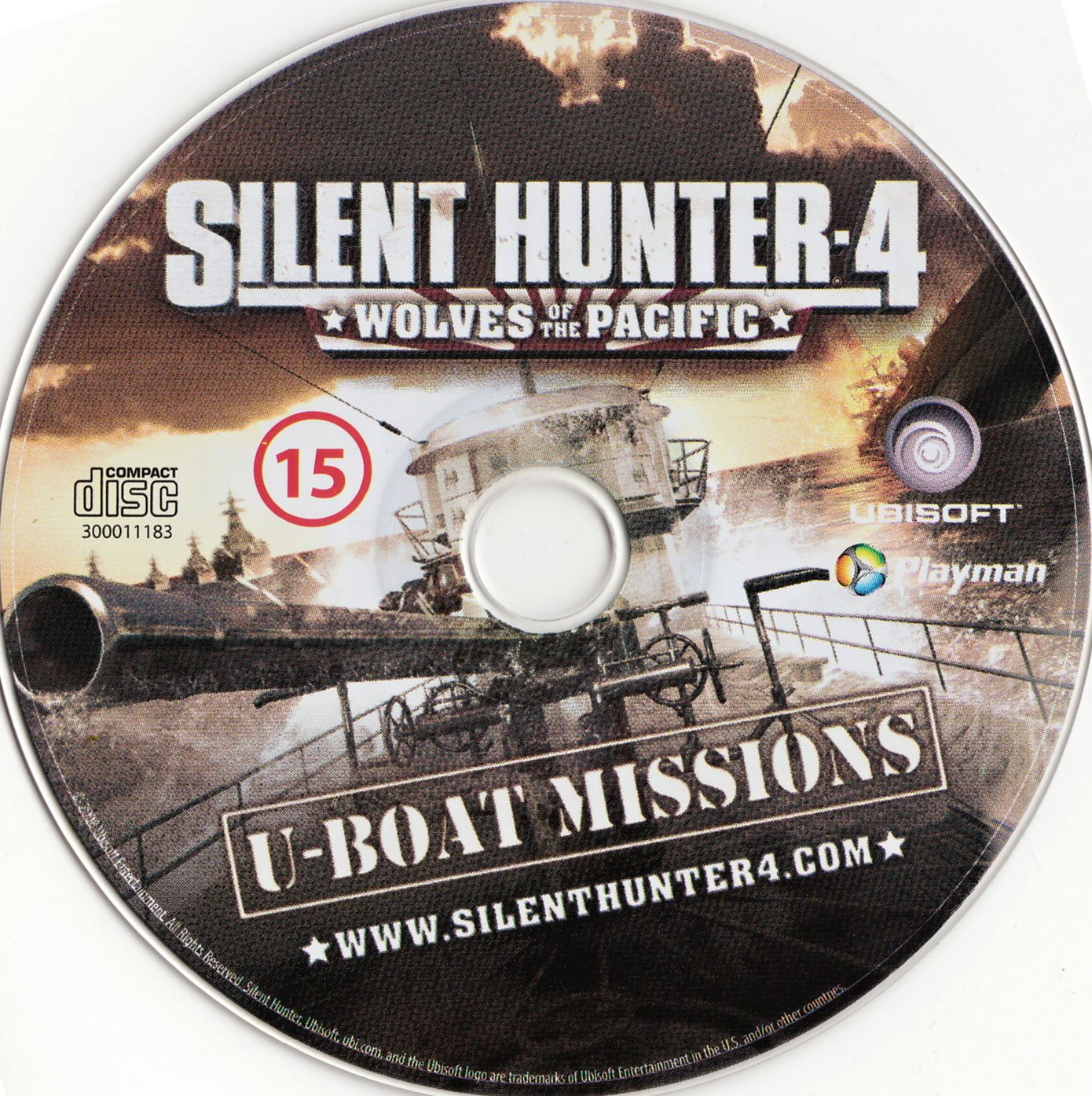 Label Silent Hunter 4 Wolves Of The Pacific PC