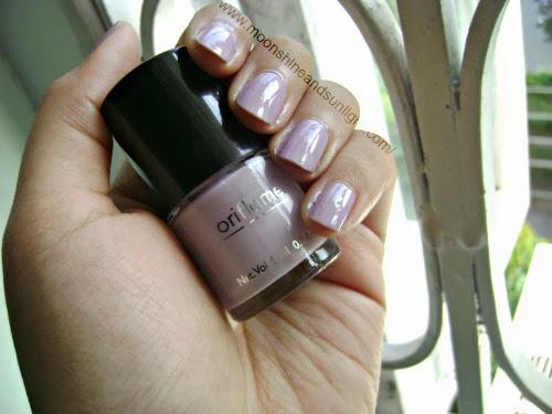Oriflame Lavender shimmer