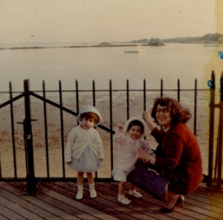 Mary Ann, Florinda, and Teresa, many years ago