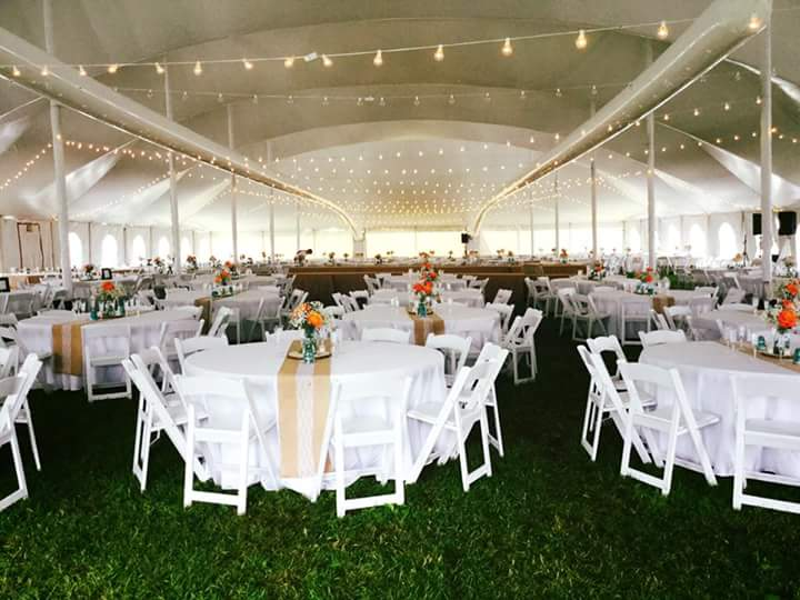 wedding and event rentals in peoria illinois chairs dance floor tents tables