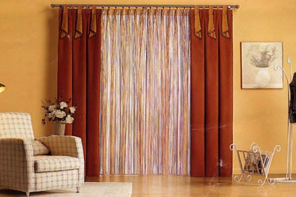 Cortinas para el hogar cortinas para el living for Cortinas de living