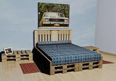 15 ideas para hacer muebles con tarimas de madera ingeniando - Tarimas para camas ...