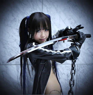 CosRain.Com  Kipi's COSPLAY - Black Rock Shooter