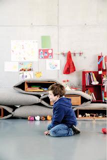 interiorisme habitació nens Stone Designs Guerrilla