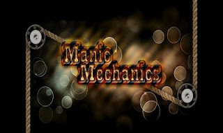 Screenshots of the Manic Mechanics for Android tablet, phone.