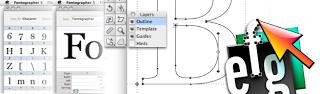 tool untuk merancang tulisan font