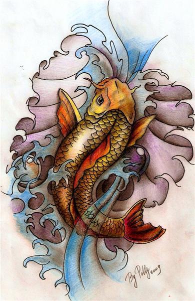 Tatuaes de Pez Koi COMPLETISIMO  Fotos de Tatuajes