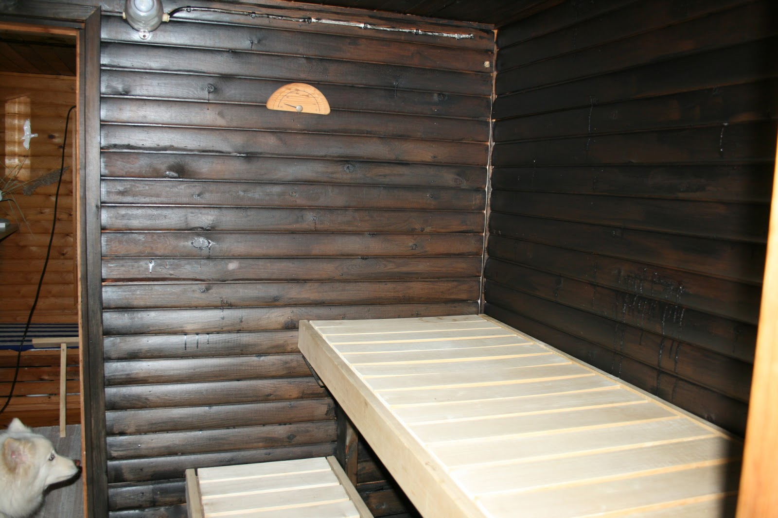 sauna remontti
