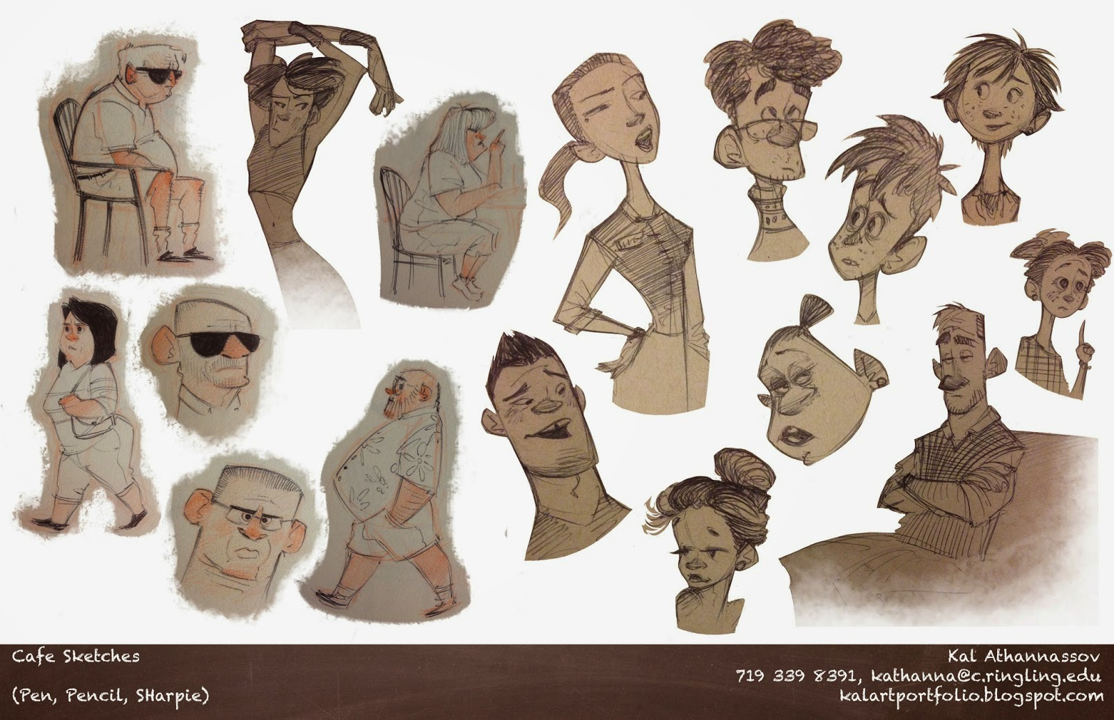 Visual dev character sketches athannassov