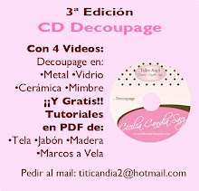 CD Para Aprender Decoupage, con 4 Videos y de REGALO 4 Tutoriales
