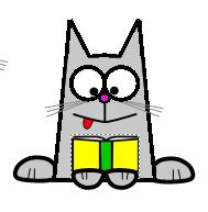 Привет! Я кот БУКер! Я рад вас приветствовать в блоге Центральной детской библиотеки!