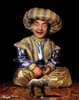 montage 23 Montagens de Fotos Mr. Bean photoshop