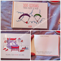 livro 100 coisas para fazer a dois