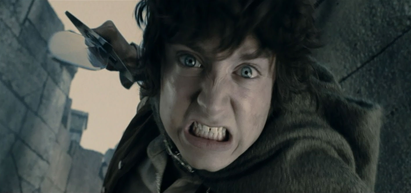 frodo baggins the ring fellowship of photo filme elijah lord rings lotr wood